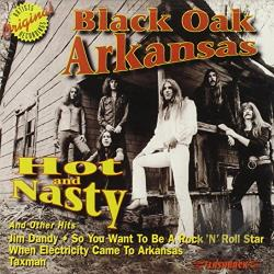 Black Oak Arkansas - Hot & Nasty & Other Hits CD Cover Art