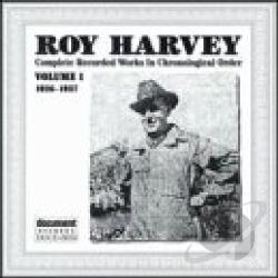 Roy Harvey Vol 1 1926 1927 Cd Album