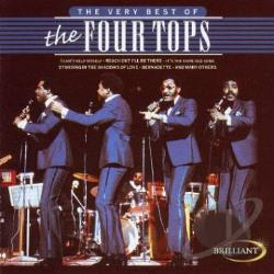 Four Tops - Very Best of the Four Tops CD Cover Art