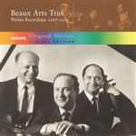 Beaux Arts Trio - Philips Recordings, 1967-1974 CD Cover Art
