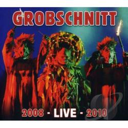 Grobschnitt - 2008 Live 2010 CD Cover Art