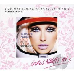 Aguilera, Christina - Decade Of Hits CD Cover Art