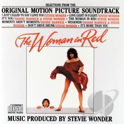 Woman In Red CD Cover Art