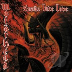 Motorhead - Snake Bite Love CD Cover Art