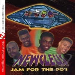 Newcleus - Jam for the 90s CD Cover Art