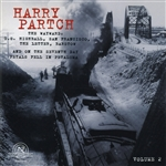 Gate 5 Ensemble / Harry Partch Ensemble / Partch - Harry Partch Collection, Vol. 2 CD Cover Art