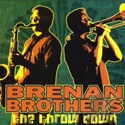 Brenan Brothers - Throw Down CD Cover Art