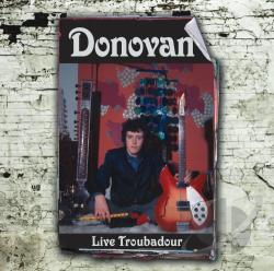 Donovan - Live Troubadour CD Cover Art