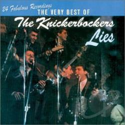 Knickerbockers - Lies CD Cover Art