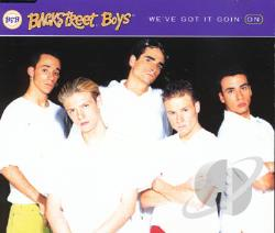 Backstreet Boys - We've Got It Goin' On CD Cover Art