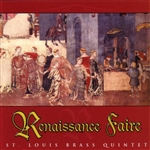 ST Louis Brass Quintet - Renaissance Faire CD Cover Art