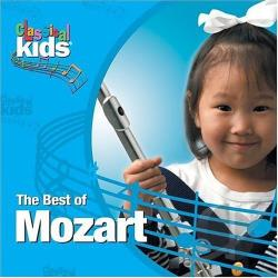 Classical Kids - Best of Mozart CD Cover Art