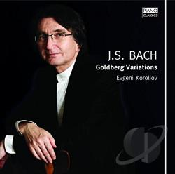 Bach / Koroliov - Bach: Goldberg Variations CD Cover Art