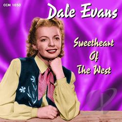 Evans, Dale - Sweetheart of the West CD Cover Art