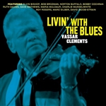 Clements, Vassar - Livin' with the Blues CD Cover Art