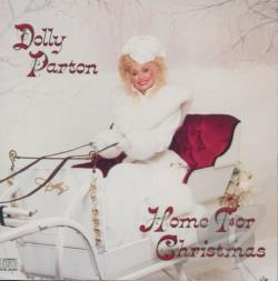 Parton, Dolly - Home for Christmas CD Cover Art