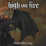 High On Fire - Blessed Black Wings CD Cover Art