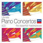 Ultimate Piano Concertos - Ultimate Piano Concertos: The Essential Masterpieces CD Cover Art