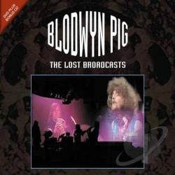 Blodwyn Pig - Lost Broadcasts CD Cover Art