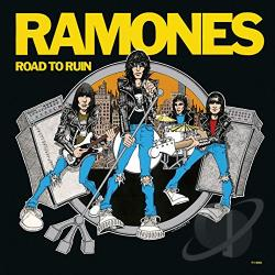 Ramones - Road to Ruin LP Cover Art
