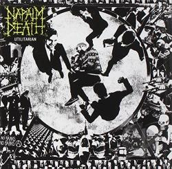 Napalm Death - Utilitarian CD Cover Art