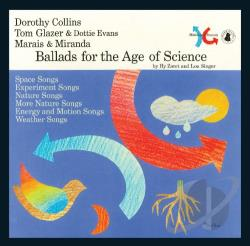 Singer, Lou / Zaret, Hy - Ballads for the Age of Science CD Cover Art