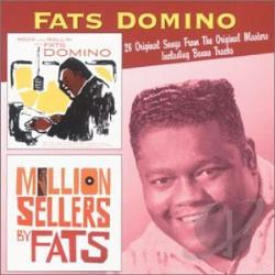 Domino, Fats - Rock and Rollin' with Fats Domino/Million Sellers By Fats CD Cover Art