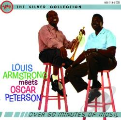 Armstrong, Louis - Armstrong Meets Peterson CD Cover Art
