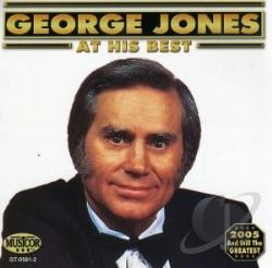 Jones, George - At His Best CD Cover Art