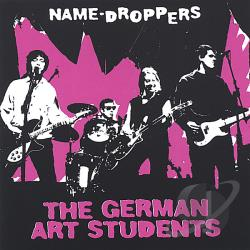 German Art Students - Name-Droppers CD Cover Art