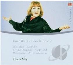 Gisela / May - Kurt Weill & Bertolt Brecht CD Cover Art