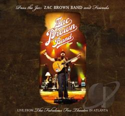 Brown, Zac / Brown, Zac Band - Pass the Jar: Live from the Fabulous Fox Theatre in Atlanta CD Cover Art