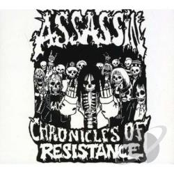 Assassin (Metal) - Chronicles of Resistance CD Cover Art