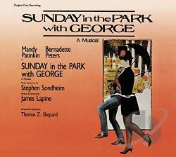 Patinkin, Mandy / Peters, Bernadette - Sunday in the Park with George CD Cover Art