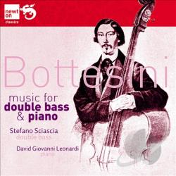 Bottesini / Leonardi / Sciascia - Bottesini: Music for Double Bass and Piano CD Cover Art
