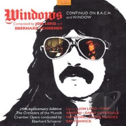 Lord, Jon - Windows: Continuo on B.A.C.H. & Window CD Cover Art