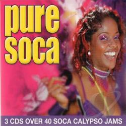 Pure Soca CD Cover Art
