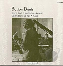Lake, Oliver - Boston Duets CD Cover Art