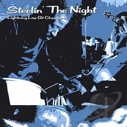 Clyde Lightning George - Steelin the Night CD Cover Art