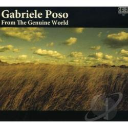 Poso, Gabriele - From the Genuine World CD Cover Art