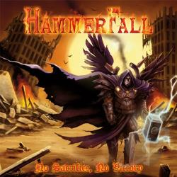 Hammerfall - No Sacrifice, No Victory CD Cover Art