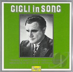 Gigli, Beniamino - Gigli in Song CD Cover Art
