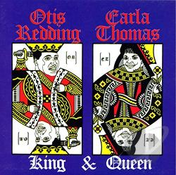 Redding, Otis / Thomas, Carla - King & Queen CD Cover Art