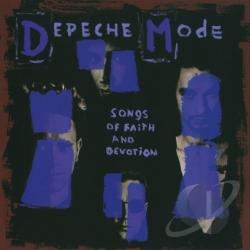 Depeche Mode - Songs of Faith and Devotion CD Cover Art