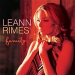 Rimes, Leann - Family CD Cover Art