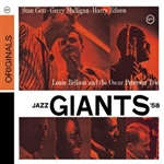 Edison, Harry Sweets / Getz, Stan / Mulligan, Gerry / Oscar Peterson Trio - Jazz Giants '58 CD Cover Art