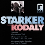 Gingold / Kodaly / Starker - Starker plays Kodaly CD Cover Art