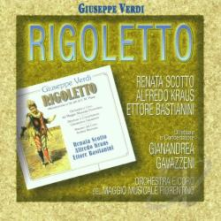 Bastianini / Cossotto / Gavazzeni / Kraus / Orchest / Scotto - Verdi: Rigoletto CD Cover Art