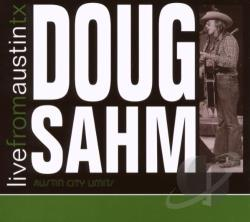 Sahm, Doug - Live From Austin Tx: Doug Sahm CD Cover Art