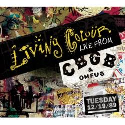 Living Colour - Live From CBGB's Tuesday 12/19/89 CD Cover Art
